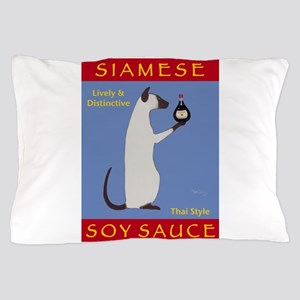 Siamese Soy Sauce Pillow Case