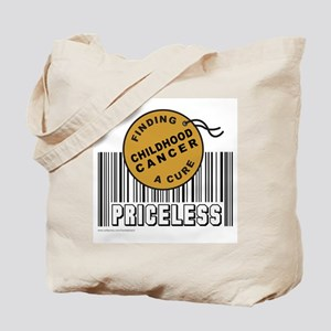 CHILDHOOD CANCER FINDING A CURE Tote Bag