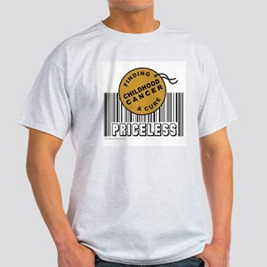CHILDHOOD CANCER FINDING A CURE Light T-Shirt