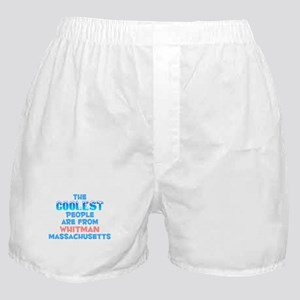Coolest: Whitman, MA Boxer Shorts