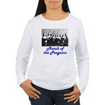 March of the Penguins Women's Long Sleeve T-Shirt