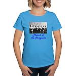 March of the Penguins Women's Dark T-Shirt