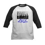 March of the Penguins Kids Baseball Jersey
