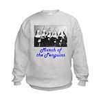 March of the Penguins Kids Sweatshirt