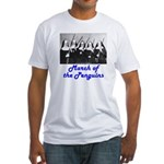 March of the Penguins Fitted T-Shirt