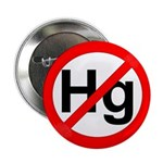 """No Hg"" Mercury - Autism 2.25"" Button (100 pack)"