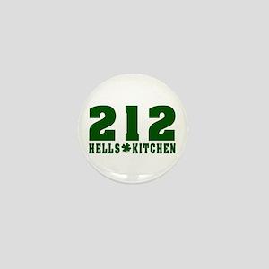 212 Hells Kitchen New York Mini Button