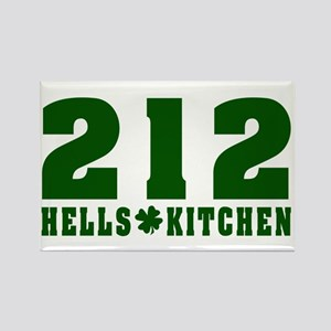 212 Hells Kitchen New York Rectangle Magnet