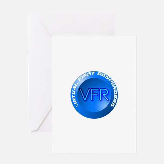Virtual First Respomder Greeting Cards