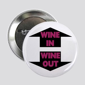 """Wine In Wine Out 2.25"""" Button"""