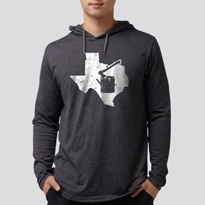 Logging Work Shirt Texas Lumbe Long Sleeve T-Shirt