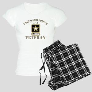 Proud Girlfriend of a US Ar Women's Light Pajamas