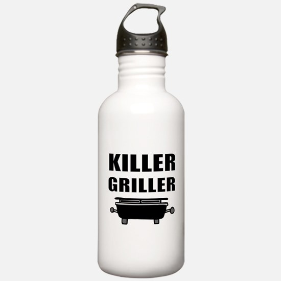 BBQ grill thrill Water Bottle
