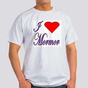 I Love Mormor Ash Grey T-Shirt