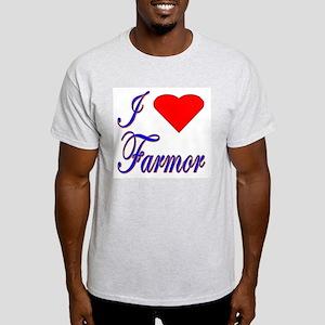 I Love Farmor Light T-Shirt