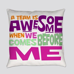 Funny office Everyday Pillow