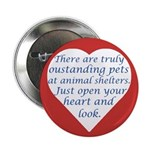 """Open Your Heart 2.25"""" Button (10 pack)"""