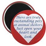 """Open Your Heart 2.25"""" Magnet (10 pack)"""