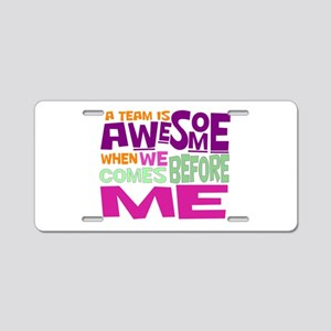 Funny office Aluminum License Plate