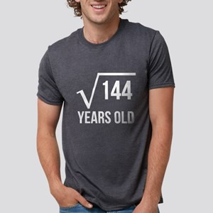 12 Years Old Square Root T-Shirt