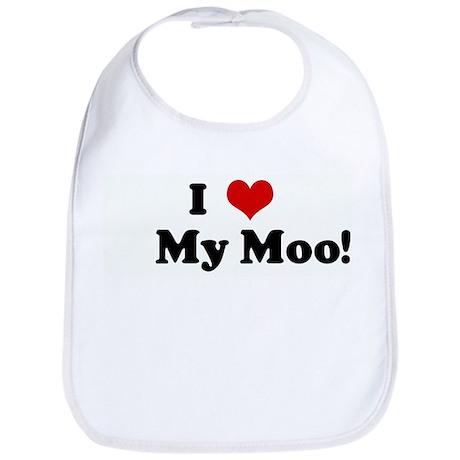 I Love My Moo! Bib
