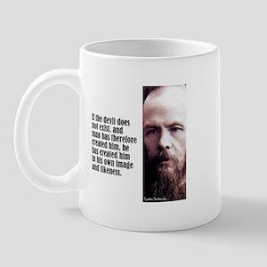 """Dostoevsky """"If the Devil"""" Mug"""