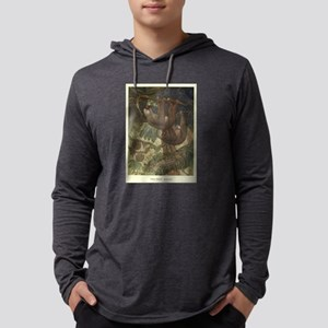 Vintage Sloth Painting (1909) Long Sleeve T-Shirt
