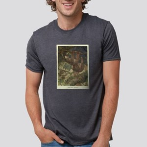 Vintage Sloth Painting (1909) T-Shirt