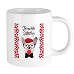 Frenchie Kissing Mugs