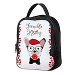 Frenchie Kissing Neoprene Lunch Bag