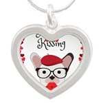 Frenchie Kissing Necklaces