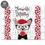 Frenchie Kissing Puzzle
