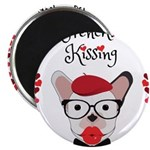 Frenchie Kissing Magnets