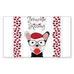 Frenchie Kissing Sticker