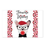 Frenchie Kissing Postcards (Package of 8)