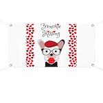 Frenchie Kissing Banner