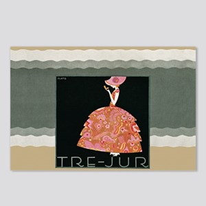 Tre Jur Perfume Advertisement Postcards (Package o
