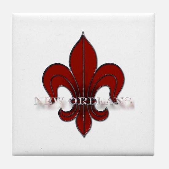 New Orleans Tile Coaster