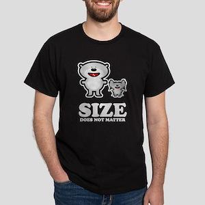 Size Does Not Matter Dark T-Shirt