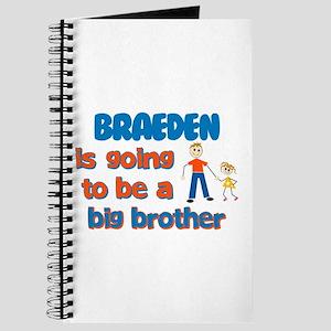 Braeden - Going to be Big Bro Journal