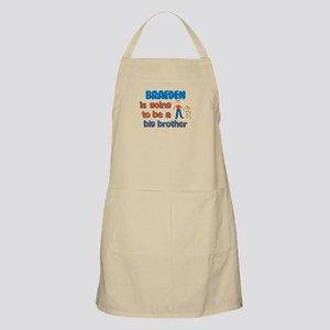 Braeden - Going to be Big Bro BBQ Apron