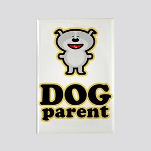 Dog Parent Rectangle Magnet
