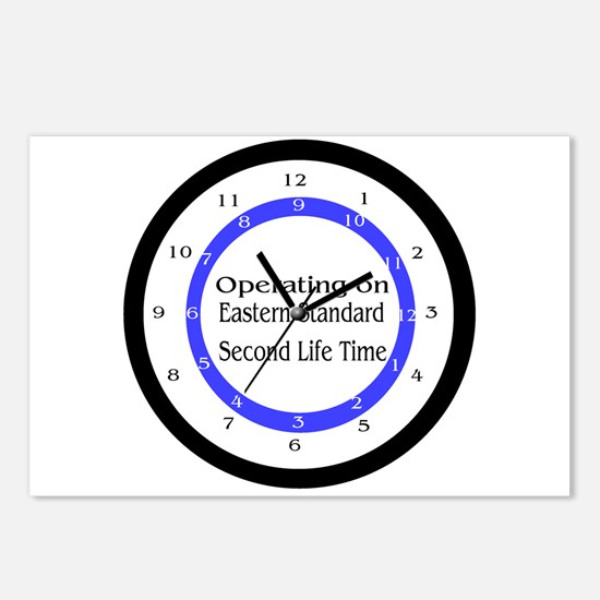 Operating on Second Life Time Postcards (Package o