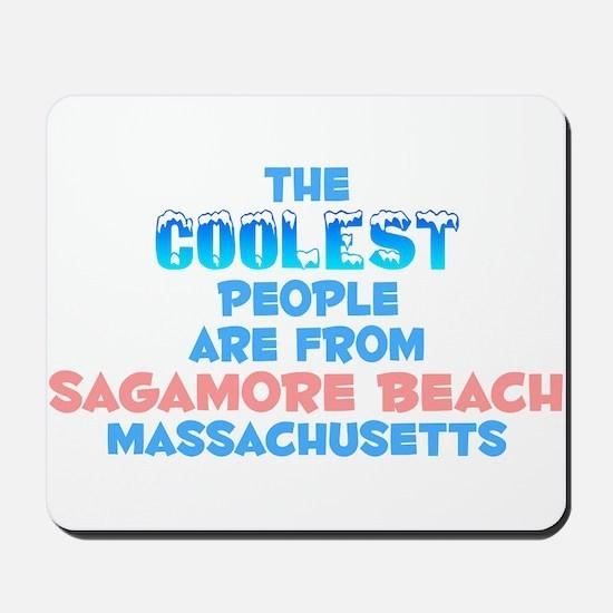 Coolest: Sagamore Beach, MA Mousepad