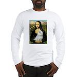 Mona Lisa / Maltese Long Sleeve T-Shirt