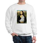 Mona Lisa / Maltese Sweatshirt