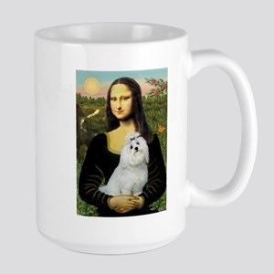 Mona Lisa / Maltese Large Mug