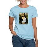 Mona Lisa / Maltese Women's Light T-Shirt