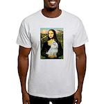 Mona Lisa / Maltese Light T-Shirt