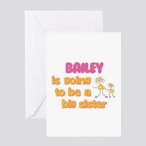 Bailey - Going to be Big Sist Greeting Card